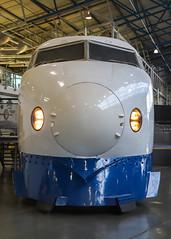 Bullet train 2019-10-20 (Michael Erhardsson) Tags: york 2019 england shinkansen japan bullet järnvägsmuseum