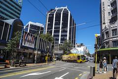 Willis Street - Wellington (andrewsurgenor) Tags: trolleybuses trolleybus trolleycoach transport transit trackless obus gowellington nzbus trolleybuswellington trolebús trolejbusowy trolejbus