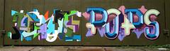 Graffiti in Amsterdam (wojofoto) Tags: amsterdam nederland netherland holland graffiti streetart wojofoto wolfgangjosten ndsm pop pops evolve olivier olivierschimmel
