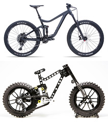 Giant Reign (dirtzonemaster) Tags: lego technic giant reign glory trek specialized scoot canyon lugpol freeride enduro mtb dh xc downhill cycle bicycle maestro suspension