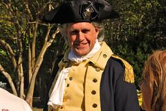 general Washington I presume (scott1346) Tags: reenactor revolutionary maxwellhall circa1680 uniform general historic autofocus canont3i 1001nightsthenew 1001nightsmagiccity