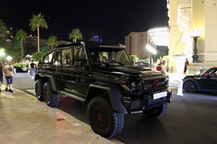 Mercedes-Benz Brabus B63S 700 6x6 (R_Simmerman2) Tags: mercedesbenz brabus b63s 700 6x6 mercedes benz amg b700 g63 monaco monte carlo casino valet parking garage hotel combo harbor boulevard supercars sportcars hypercars monacocars carsofmonaco