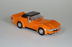 1969 Corvette Stingray L71 (C3) (MOCs & Stuff) Tags: lego city town classic chevrolet corvette c3 stingray l71