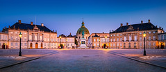 _DSC1546 - Amalienborg at dawn (AlexDROP) Tags: 2019 denmark copenhagen europe travel architecture color cityscape city bluehour nikond750 tamronaf1735mmf284diosda037 best iconic famous mustsee picturesque postcard