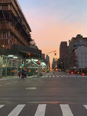 #homeishome #newyorksunrise #cycling #citibike #sunset #mpls #iphoneography #legroom #travelogue (mlmck) Tags: homeishome newyorksunrise cycling citibike sunset mpls iphoneography legroom travelogue