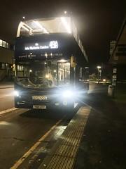 Nct 487 Navy Line 49 (Snape Bus Pics) Tags: yn19efy enviro400cbgcity alexanderdennis scania 487 navyline49 nottinghamcitytransport nct