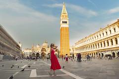 Venice trip (yuanxizhou) Tags: historical sunset light portrait architecture church stmark's basilica venice italy europe