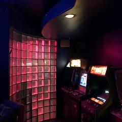Blipsy Bar (jericl cat) Tags: koreatown western losangeles blipsy bar interior vintage 80s retro pinball streamlined block glass arcade