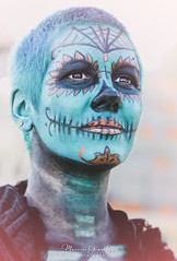 10.27.18 DDLM 5 (Marcie Gonzalez) Tags: 2018 hollywood forever cemetery cemeteries death life celebration event events southern california calif ca los angeles county socal so cal north america us usa united states hispanic mexican mexico tree dia de muertos all souls day dead halloween ghost ghosts graves día skull skulls skeleton painting costume custom art night painted