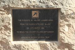 Holder Village Settlement cairn (aquilareen) Tags: holder villagesettlement cairn