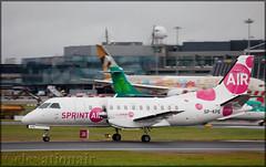 SP-KPE SAAB 340A-130 Sprint Air (elevationair ✈) Tags: dub eidw dublin airport dublinairport ireland avgeek aviation airplane plane prop twinprop turboprop sprint sprintair saab 340 saab340a130 freighter cargo spkpe