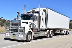 Riverina Express - Kenworth T909 (Scottyb28) Tags: kenworth t909 truck trucks trucking highway haulage
