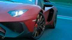Lamborghini Aventador LP 750-4 Superveloce '15 (Matze H.) Tags: lamborghini aventador lp 7504 superveloce '15 sv red gt sport gran turismo new update sunsire sunset lights race track spa wallpaper screenshot uhd hdr 4k