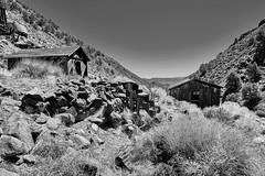 Silverdyke (joeqc) Tags: nevada nv mineral county silverdyke ghosttown ghost fuji xe3 xf1024f4r xf1024mmf4rois black bw blancoynegro blackandwhite monochrome mono greytones abandoned forgotten