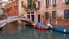 Venice Canal (JoannaLouise85) Tags: venice boat canal river bridge europe italy outdoor