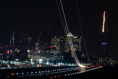 _DSC4326 (adamking69) Tags: skyline cityscape london londoncityairport docklands longexposure light lighttrails buildings skyscrapers nikon d850 nikkor nikkor28300