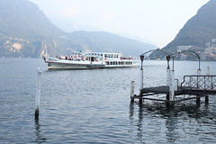 (discoveyvans) Tags: switzerland lugano lake city mountains view travel explore solo fog nature birds