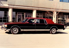 1988 Chevrolet Caprice Classic Limousine (aldenjewell) Tags: 1988 chevrolet caprice classic limousine 30 double cut inch viscount coachbuilders canada photo
