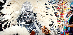 10.27.18 DDLM 7 (Marcie Gonzalez) Tags: 2018 hollywood forever cemetery cemeteries death life celebration event events southern california calif ca los angeles county socal so cal north america us usa united states hispanic mexican mexico tree dia de muertos all souls day dead halloween ghost ghosts graves día skull skulls skeleton painting costume custom art night painted aztec dancer dance dancing feathers head dress