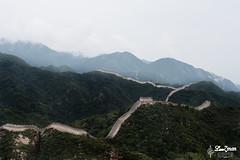 ~Rolling Over The Hills~ #Explored 02.11.2019 (Lenzmaan) Tags: greatwall wonderoftheworld china hills nikon trees greenery stairs