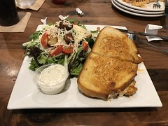 2019 305/365 11/1/2019 FRIDAY -  BUFFALO GRILLED CHEESE - Buffalo Wing Factory Sterling, VA (_BuBBy_) Tags: buffalo grilled cheese wing factory sterling va virginia chicken and three cheeses sourdough bread 2019 305365 1112019 friday 11 1 305 365 365days project project365 november fri fr f