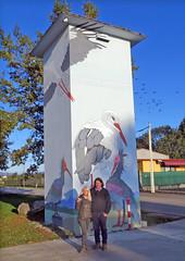 IMG_4971 Proud of our work. (pinktigger) Tags: murales wallart cabin streetart fagagna feagne friuli italy