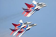 Swifts Aerobatic Team (Nils Mosberg) Tags: maks2019 zhukovsky strizhi teamstrizhi swiftsaerobaticteam mig29fulcrum