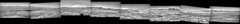 Gale Crater Panorama, Early November 2019 (sjrankin) Tags: 2november2019 edited grayscale panorama nasa mars msl curiosity galecrater mountains mountsharp navcam craterfloor craterrim sky haze dust sand rocks 360° 360°panorama