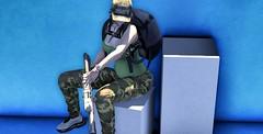 ░ꜰ░ʀ░ᴇ░ᴀ░ᴋ░ɪ░ɴ ░░ᴍ░ᴇ░░ᴏ░ᴜ░ᴛ░░ (lbellzdollz) Tags: beestyle camo bodysuit plain hat beusy kunst gun holster parachute backpack riffle