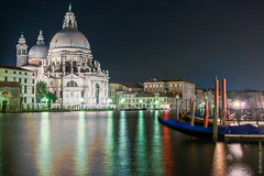 San Simeone Piccolo after Dark (Venice, Italy) (thedot_ru) Tags: venice italy river canal calm buildings architecture water sky noclouds night afterdark sunset europe travelling travel travels tourism tourist trip adventure wanderlust eu 2005 sansimeonepiccolo sight building reflection