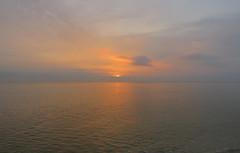 IMG_0012x (gzammarchi) Tags: italia paesaggio natura mare ravenna lidodidante alba sole nuvola riflesso poesia haiku