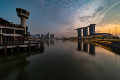 Customs House, Singapore (Bernard Yeo) Tags: cityhall customshouse laowa marina pentax pixelshift singapore sunrise