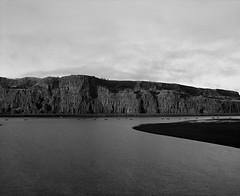Early Morning, Columbia River Gorge, Lyle, Washington (austin granger) Tags: lyle washington oregon columbiariver columbiarivergorge fishermen fishers geology morning film gf670