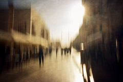 untitled (ChrisRSouthland (mostly off, traveling & working)) Tags: sunlight sun color ricohgriii motionblur morion street contraluz light malta