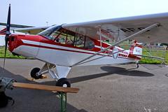 OE-AFC  2A-AO Piper PA-18-95 Super Cub  Zeltweg 03-09-16 (Antonio Doblado) Tags: airplane aircraft aviation airpower aviacion zeltweg cub piper supercub pa18 oeafc 2aao