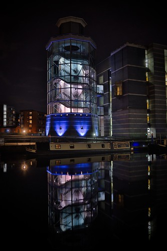 Reflections by night