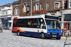SSE 47065 @ Cornfield Road, Eastbourne (ianjpoole) Tags: stagecoach south east optare solo m880 sf04skj 47065 working route 4 front beachy head meads st clements court upperton