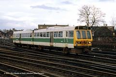 06/04/1985 - Holgate Junction, York. (53A Models) Tags: britishrail class141 pacer 141107 55518 55538 dmu diesel passenger holgatejunction york train railway locomotive railroad