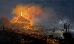 Éruption du Vésuve vue du pont de la Madeleine - Naples (Sabri KARADOĞAN) Tags: vésuve vesuvio vesuvius volcan vulcano volcano italie italia tableau painting 1782 éruption lave lava volcán vulkan 火山 vulcão volaire maddalena pont ponte ω