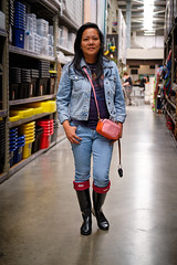 DSCF2314 (Henry Maddocks) Tags: captureone fujifilm xt2 hunters rubber boots black denim refined wellies gumboots jeans