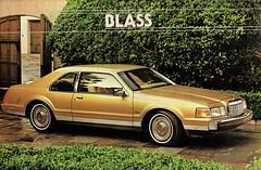 1984 Continental Mark VII Bill Blass Edition (aldenjewell) Tags: 1984 continental mark vii bill blass edition lincoln brochure