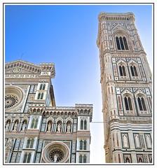 Duomo e Campanile di Giotto (manuelfanciullacci) Tags: firenze fi duomo santamariadelfiore florence italia italy toscana tuscany turismo europa europe rinascimento giotto manuelfanciullacci nikond5100
