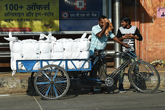 Delivery Workers in Jaipur 11 October 2019 (The McCorristons) Tags: india october 2019 jaipur workers