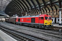 D.B 60100 TUG @ YORK (P.J.S. PHOTOGRAPHY) Tags: 60100 tug york station tees dock british gypsum db midland railway butterly