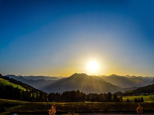 Sunrise - Bregenzerwald / Austria