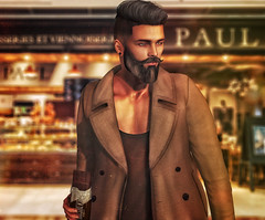[ 📷 - 146 ] (insociable.sl) Tags: boy brown man france male beard paul model sweet chocolate hipster sl patisserie secondlife hungry edit greed boulangerie magnificient etham