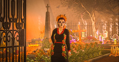 2 de Noviembre - Día de Muertos (Malu Zhao) Tags: díadelosmuertos dayofthedead díademuertos méxico tradiciones cultura catrina lacatrina secondlife
