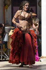 Dancing Girl (Ron Scubadiver's Wild Life) Tags: people portrait dancer stage costume renfest texas renaissance festival nikon 70300afp