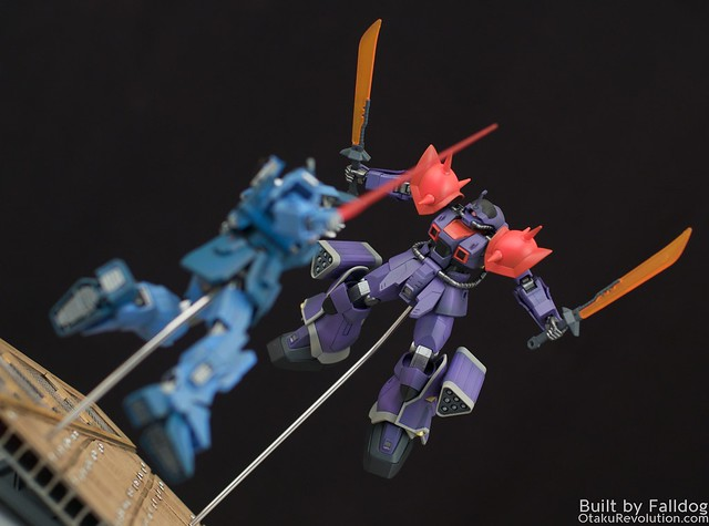 Blue Destiny vs Efreet Custom 5 by Judson Weinsheimer