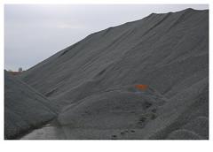 ] O R A N G E [ (michelle@c) Tags: urban industry suburban orange mountain landscape industrial manmade heap dunkerque gravel 2019 ©michellecourteau area paint mark harbour